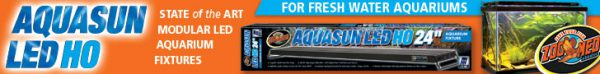 Aquasun LED HO - State of the Art Modular LED Aquarium Fixtures For Freshwater Aquariums