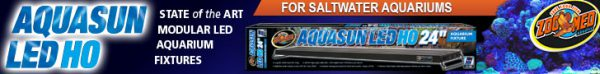 Aquasun LED HO - State of the Art Modular LED Aquarium Fixtures For Saltwater Aquariums