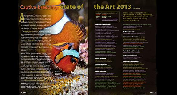 Sweet's List - Tal Sweet's Captive Bred Marine Aquarium Fish Species List through 2012