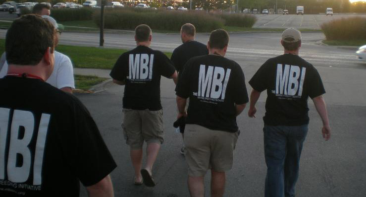 You've seen the black MBI shirts...this is what it's all about.