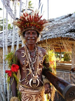 A native Papuan.