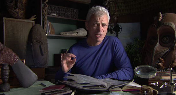 """Extreme angler"" and host of the River Monsters series on Animal Planet, Jeremy Wade theorizes that transplanted pacu may be developing a taste for more than plant matter."