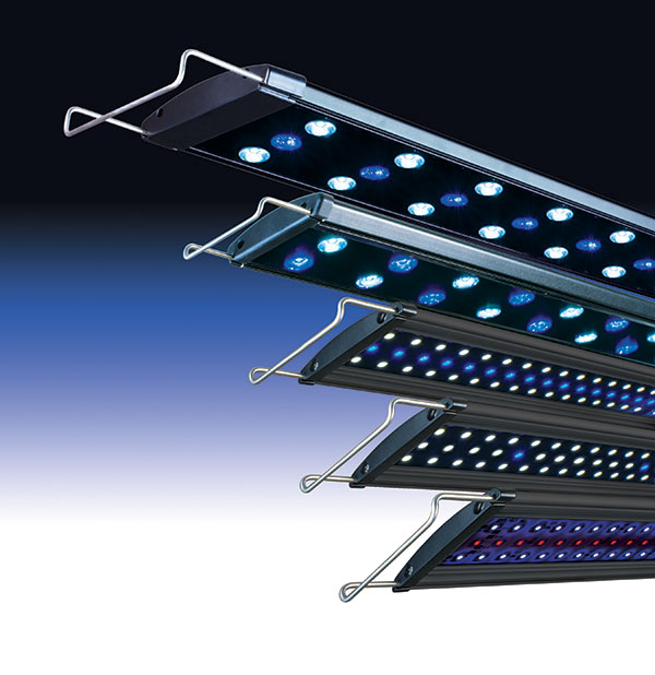 New LED aquarium lighting from LIFEGARD Aquatics