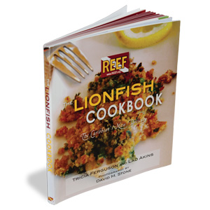 Reportedly delicious, lionfish is appearing in US and Caribbean fish markets and is the subject of a number of new cooking guides, such as this offering from REEF.