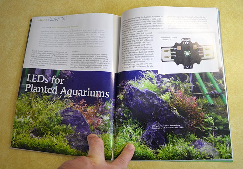 LEDs for Planted Aquariums - Part 2 - by Kris Weinhold