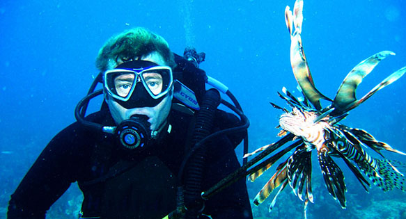 Florida sends a stern warning to Lionfish - image courtesy Florida Fish & Wildlife