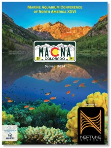 The Official MACNA DENVER Program Book available the door.