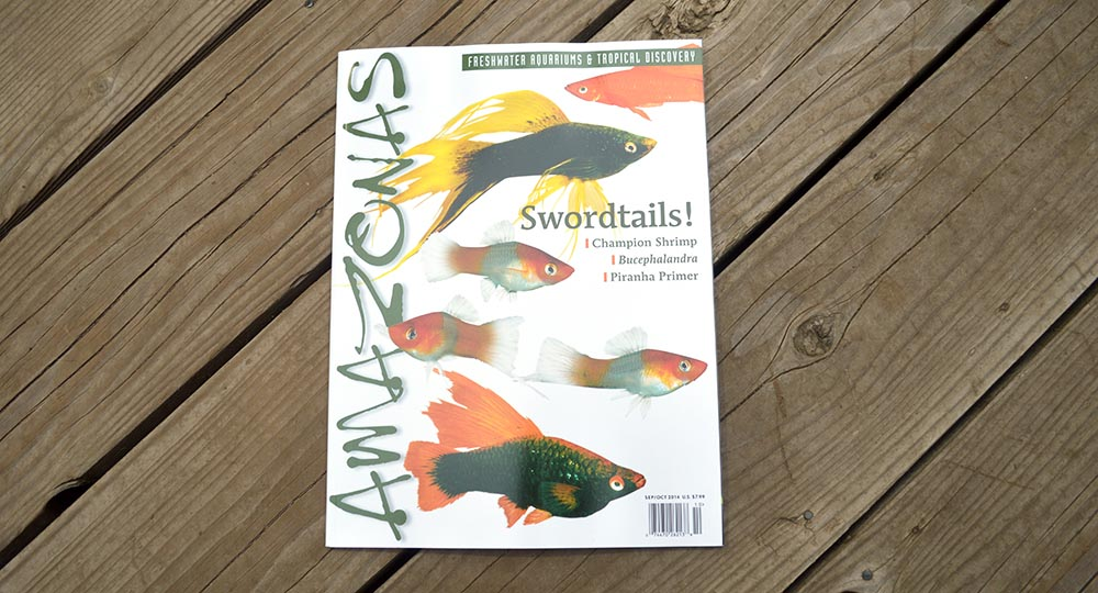 AMAZONAS Magazine - Swordtails - the September/October 2014 Issue
