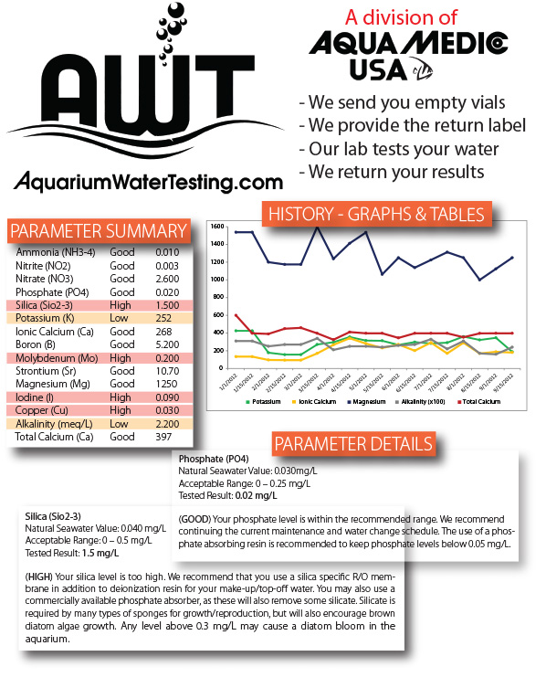 AquariumWaterTesting.com Brochure