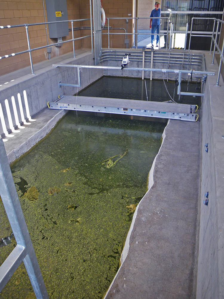 The Devils Hole pupfish propagation facility, published April 2014 - USFWS | CC-BY-2.0
