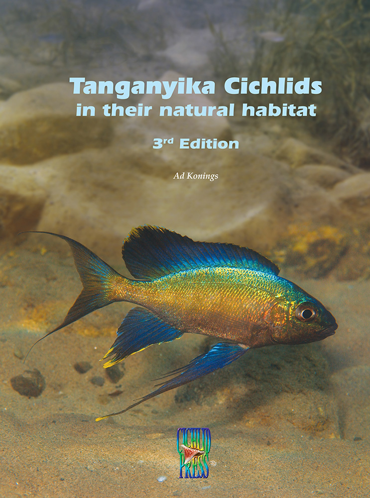 Tanganyika Cichlids in their natural habitat, the 3rd Edition from Ad Konings - anticipated release date is March 15th, 2015