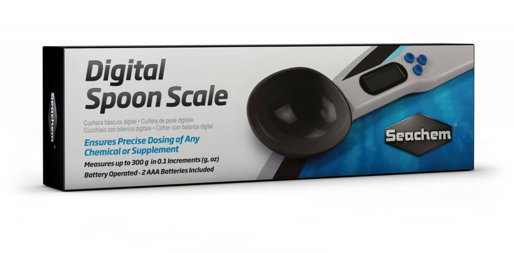 Seachem's Digital Spoon Scale - Ensures Precise Dosing of Any Chemical or Supplement