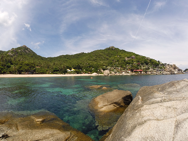 Lush tropical forest and gorgeous near-shore reefs make Koh Tao a popular tourist destination