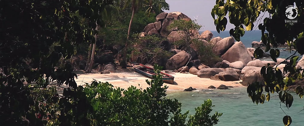 Take a peak at Thailand's Koh Tao in The Calmness of Turtle Island, Koh Tao, Thailand, the film by Vanessa Cara-Kerr