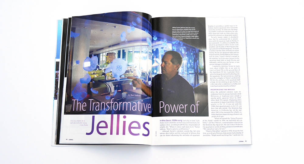 """Are we entering an age of jellies, or is this just a fad?"" Ret Talbot brings us the story of Jellyfish Art and the people behind this changing and growing company."