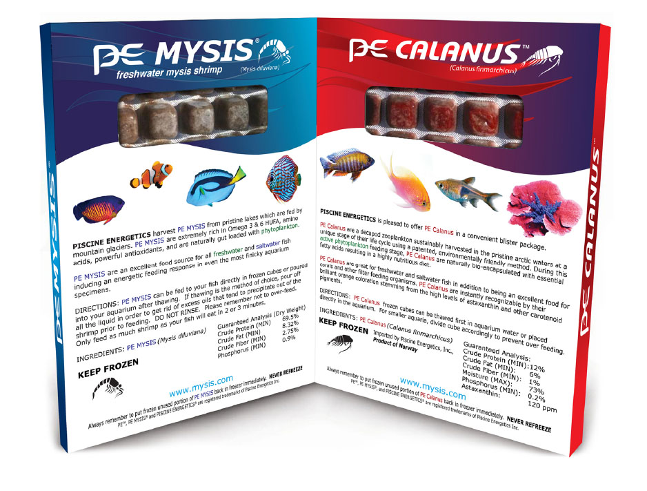 The new PE Mysis + PE Calanus Twin Pack.