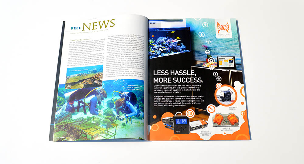 Reef News returns with a cornucopia of news from the research community. In this issue, an investigation of biofilms in the role of the coral life cycle, the role of taste in reef health assessments by larval fishes and corals, the influence of planktonic urinary excretions on the nitrogen balance of seawater, and the 2014 Nobel Prize for Physics which has direct implications for the marine reef aquarium hobby.