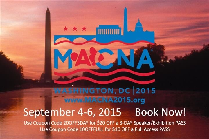 50 days until MACNA 2015 in DC!
