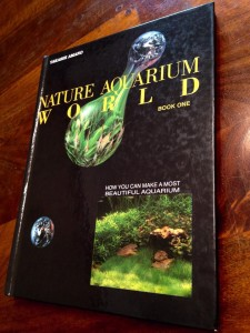 Steve Waldron's well worn, much loved copy of Amano's first book in the US - Nature Aquarium World.