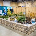 A pond display by Aquascape Inc. at Aquatic Experience - Chicago 2015. Image by Dan Woudenberg/LuCorp Marketing for the World Pet Association.