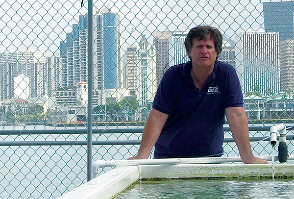 Department of Aquatic Resources biologist Dave Gulko.