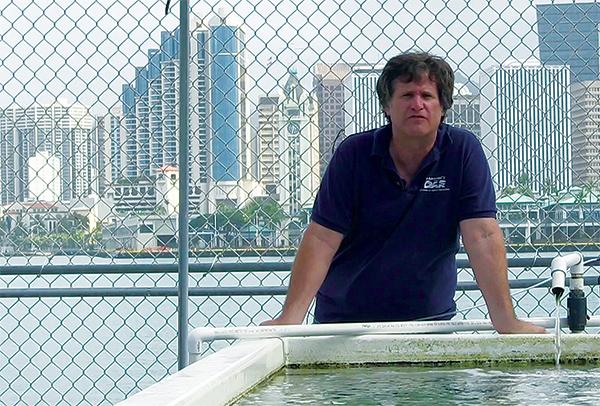 Department of Aquatic Resources biologist Dave Gulko.