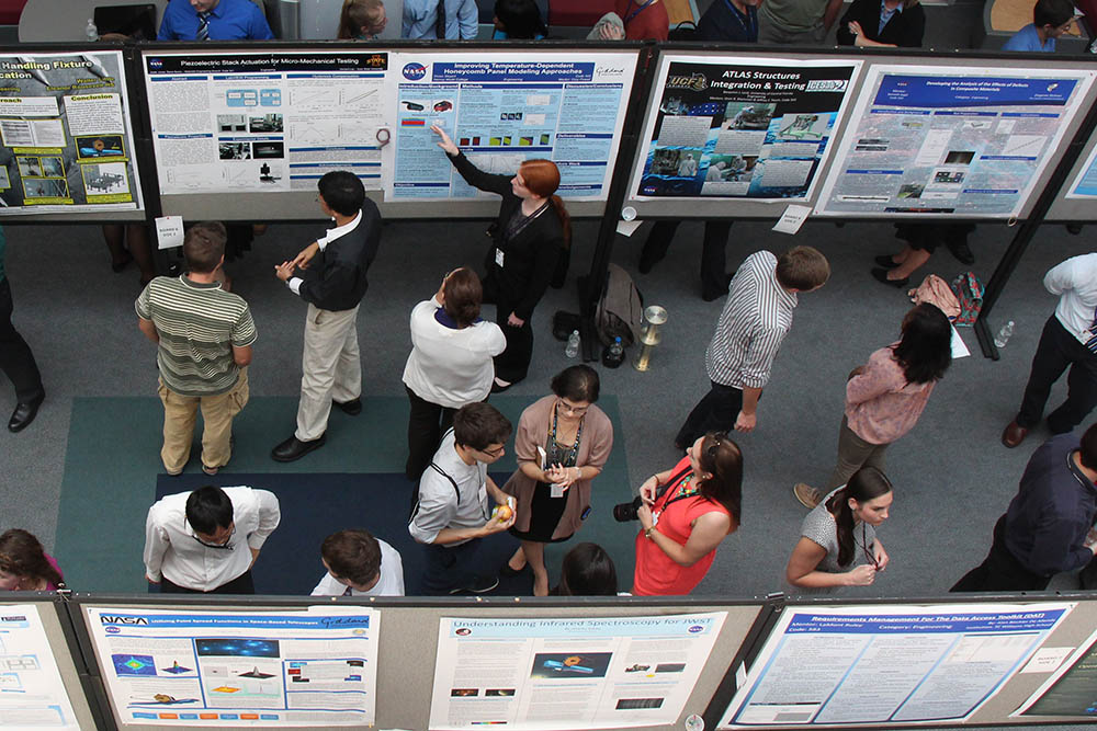 Scientific Poster Session - image by woodleywonderworks | CC BY SA 2.0