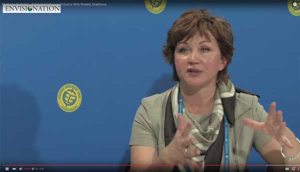 """Dr. Natalia Shakhova: """"... we consider release of up to 50 Gt of predicted amount of hydrate storage as highly possible for abrupt release at any time. That may cause ~12-times increase of modern atmospheric methane burden with consequent catastrophic greenhouse warming."""" Statement by Dr. Natalia Shakhova at the General Assembly of the 2008 meeting of the European Geosciences Union. Watch a portion of that presentation: https://www.youtube.com/watch?v=kx1Jxk6kjbQ"""