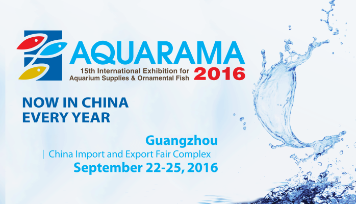 AQUARAMA 2016 - Guangzhou, China - September 22-15, 2016