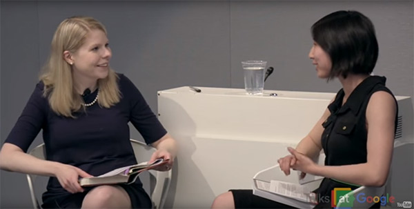 "Emily Voigt, journalist and author of ""The Dragon Behind the Glass"", interviewed by Kelly Bailey for the series ""Talks at Google""."