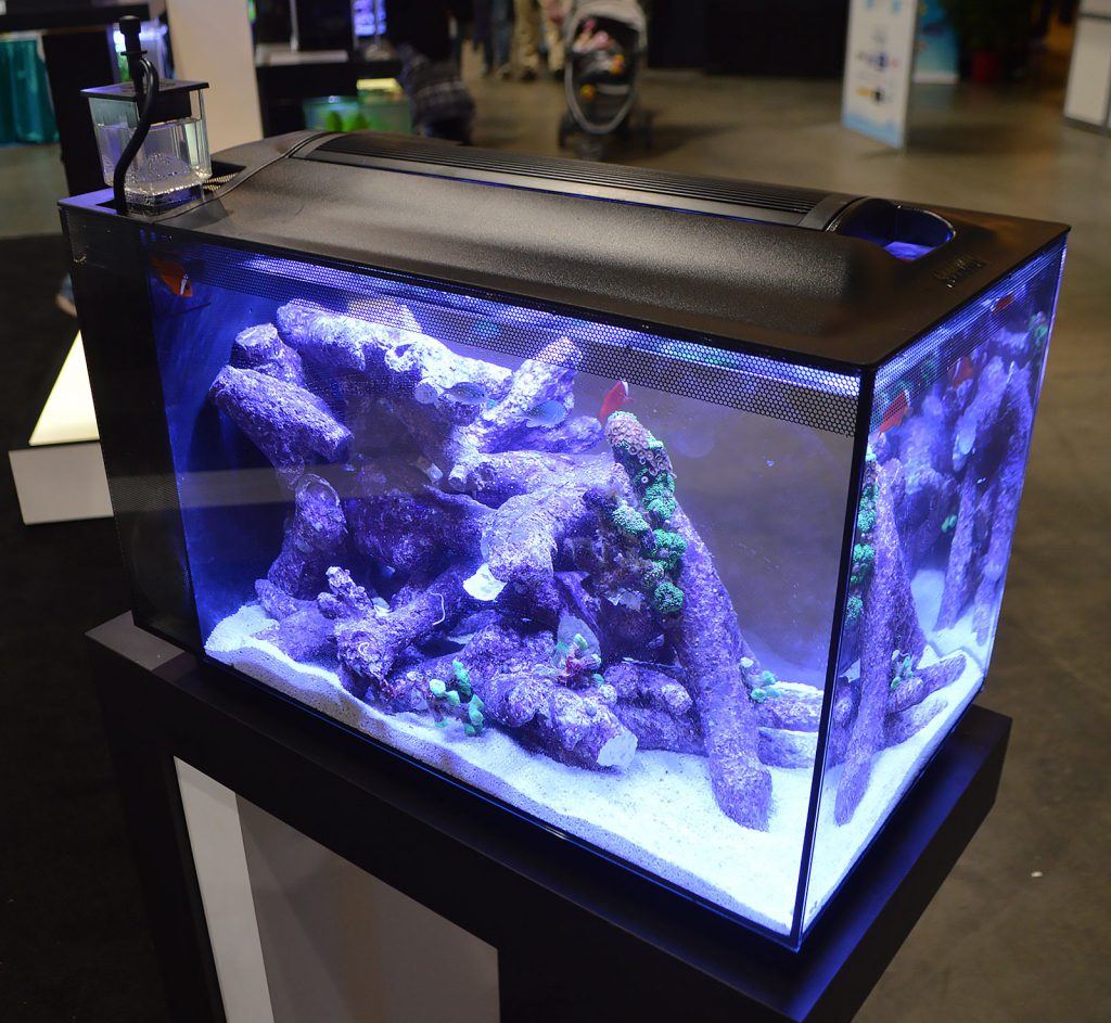 A third Fluval EVO 13.5 in the Fluval booth.