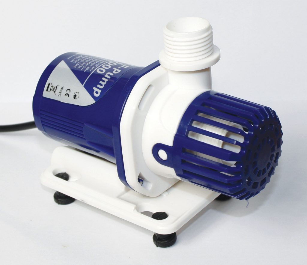 TMC's new REEF-Pump. Shown here is the 2000 model.
