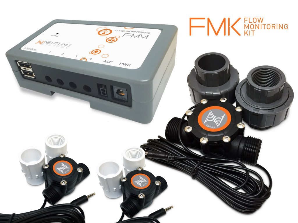 The new Flow Monitoring Kit (FMK) is Neptune Systems' latest addition to the Apex controller product lineup, adding another dimension of control to the already powerful system.