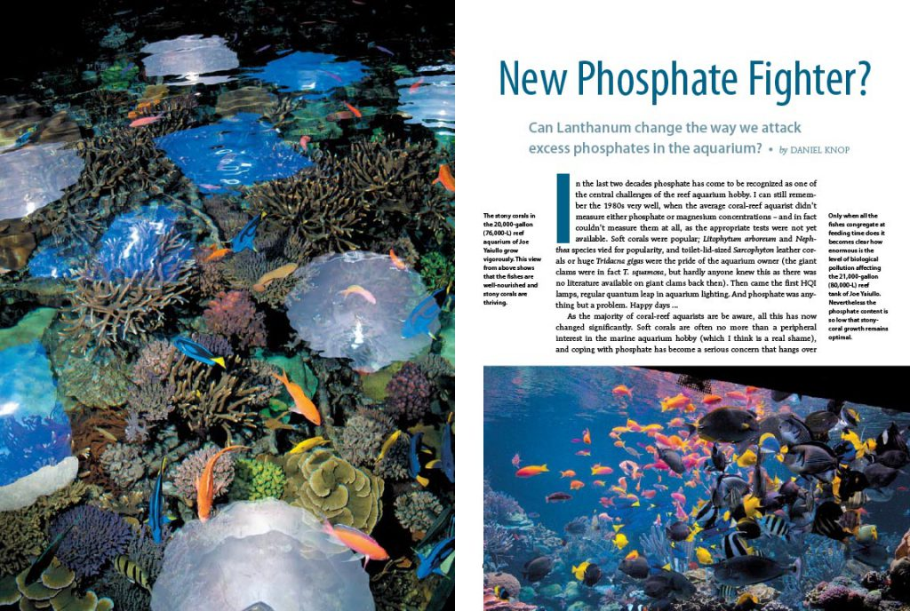 A New Phosphate Fighter? Can Lanthanum change the way we attack excess phosphates in the aquarium? Daniel Knop investigates...