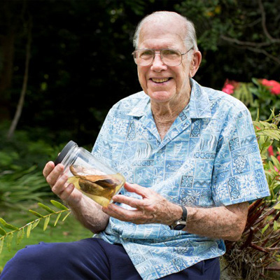 Dr. John Randall holds a PhD from the University of Hawaii in 1955. He has been an ichthyologist at Bishop Museum for the past fifty years, and is regarded as the world's leading authority on coral-reef fishes