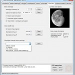 Hyperion R2+ Software - Moonlight Settings Tab