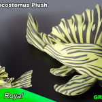 "The Royal - Green Pleco's ""Series 2"" Plush Toy Plecostomus"