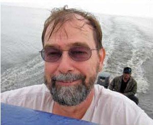 Gary Lange on the 2012 expedition to collect live breeding stock in Papua Province.