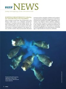 Biota first graced the pages of CORAL Magazine in the May/June 2014 issue, with stunning news of the first successful captive hatching and rearing of a Parrotfish.