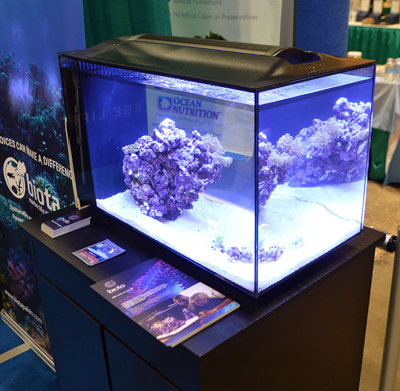 Biota Aquarium on display at Aquatic Experience - Chicago, November, 2016