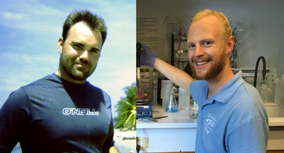 Benjamin M. Titus (left) and Mathias D. Wagner (right) will be recognized at MACNA 2017.