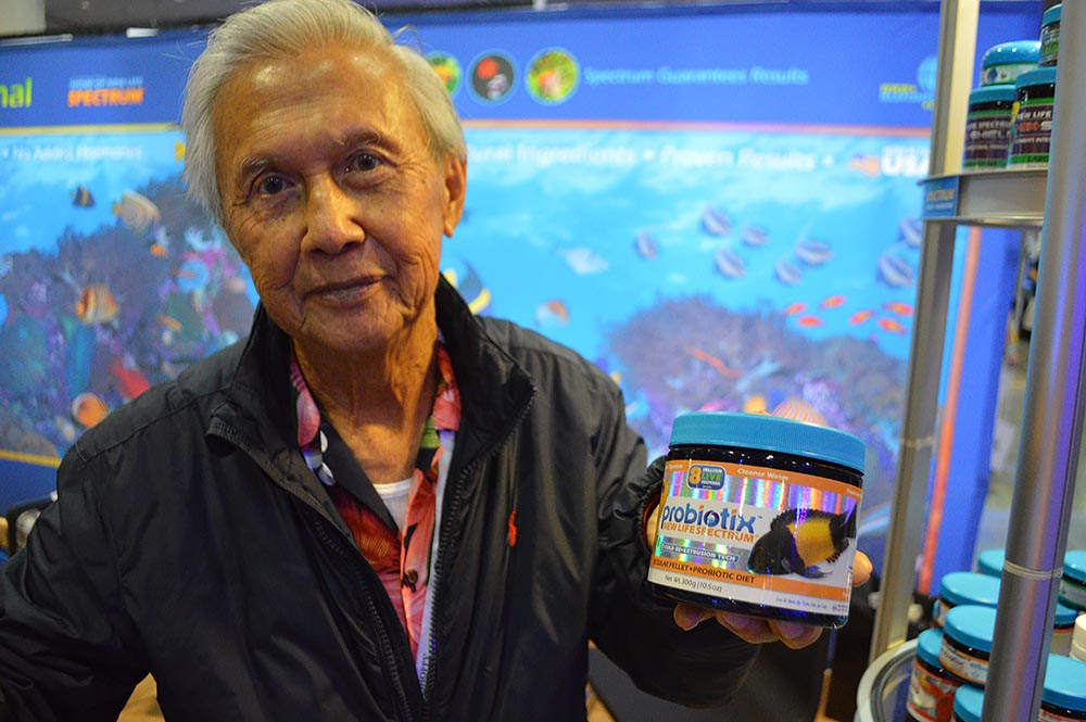 Author of stunning cichlid pictorial books and founder of New Life Spectrum, Pablo Tepoot proudly shares his latest introduction into his ever-growing line of quality aquarium fish feeds.