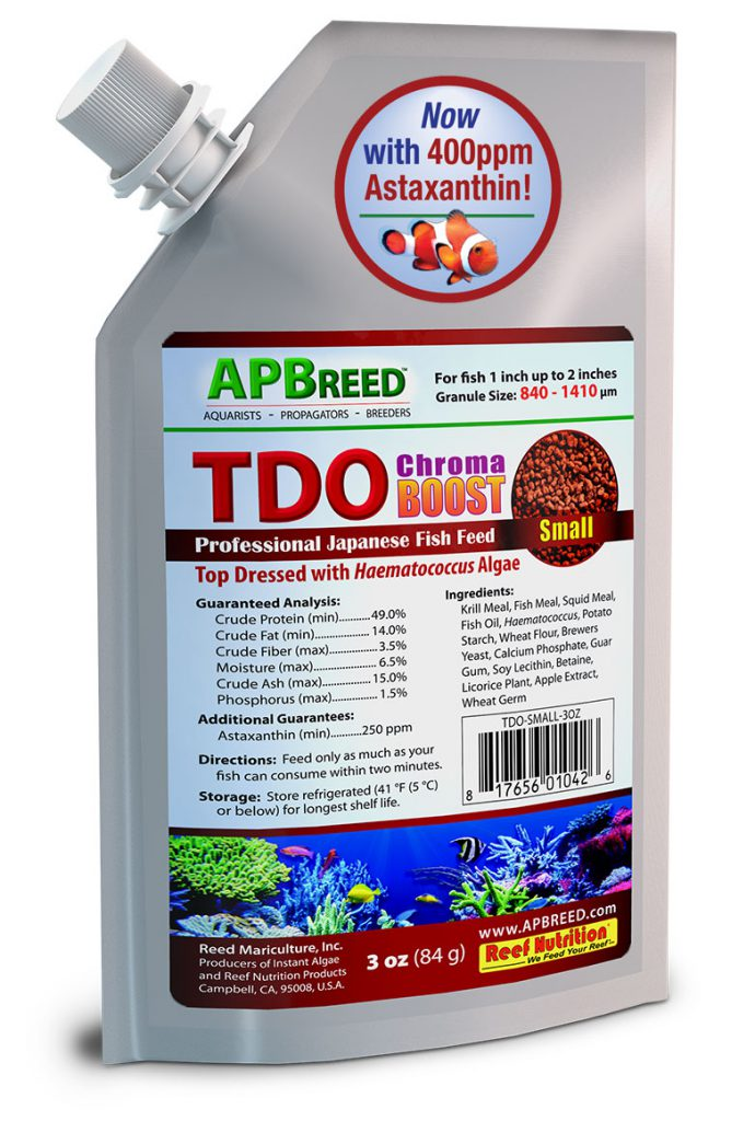 TDO Chroma BOOST™, now reformulated with the ideal astaxanthin levels.