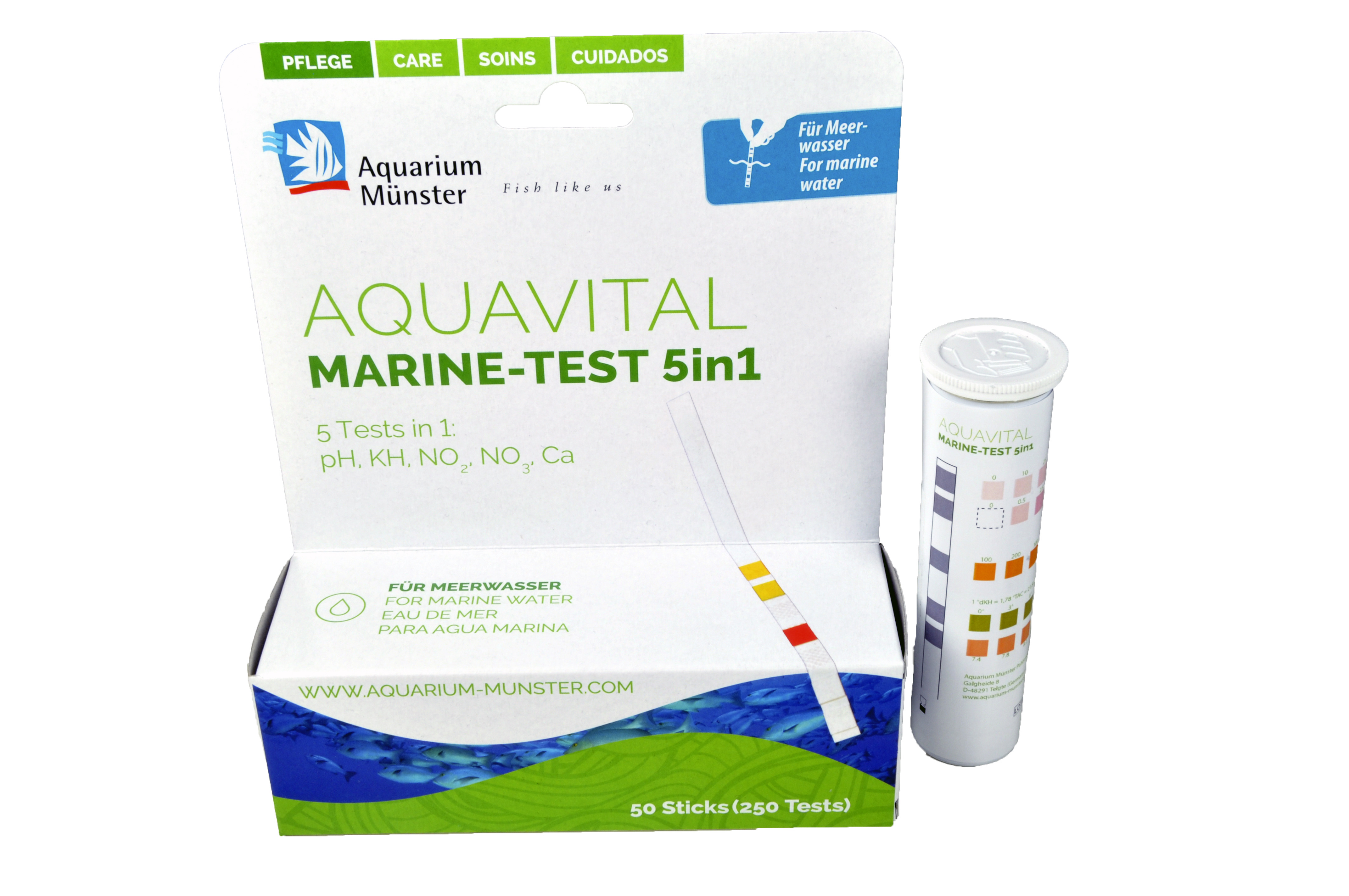Aquavital Introduces MARINE-TEST 5in1 Water Test Strips