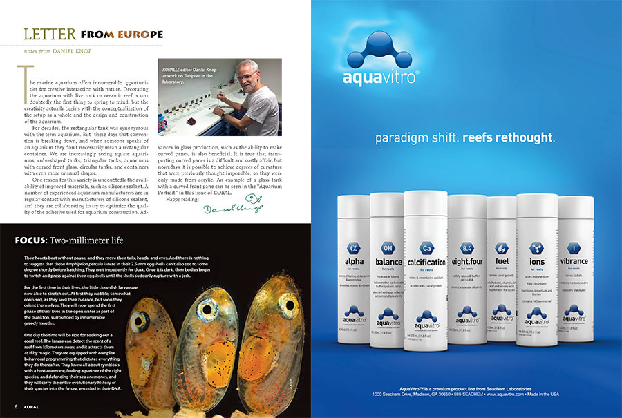 "Daniel Knop discusses the evolution of the ""aquarium"" from simple rectangular container to complex configurations formerly not considered possible. Find out what's driven this evolution in his Letter From Europe."