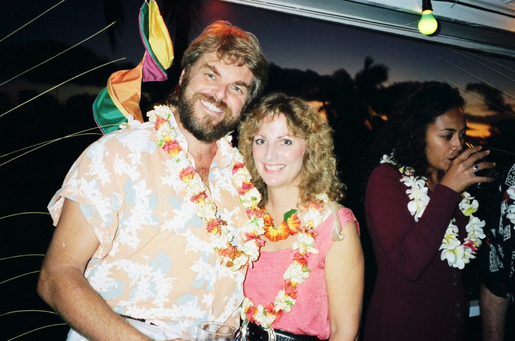 Walt and Deb Smith in Tonga, circa 1992-93