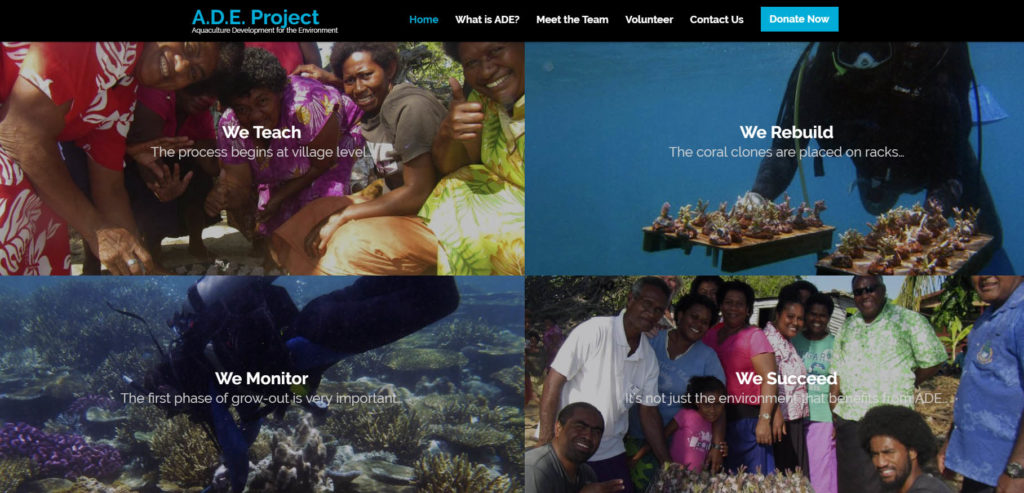 The ADE Project Homepage.