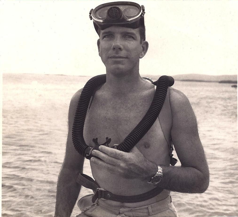 """Dr. John """"Jack"""" E. Randall, circa 1963."""