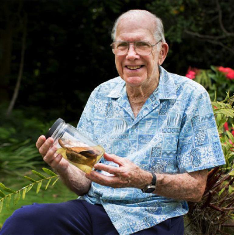 Dr. John E. Randall in 2017