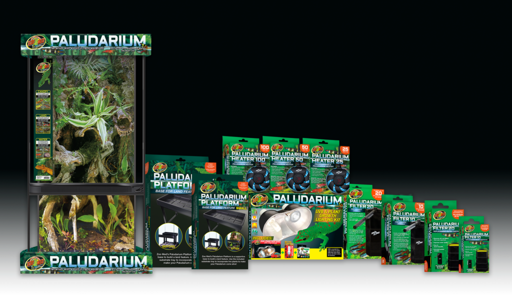 Zoo Med Laboratories, Inc. introduces their new Paludarium Line.